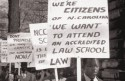 Protest for North Carolina Central University School of Law Accreditation