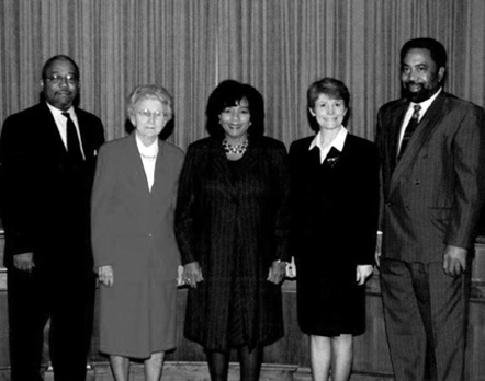 Durham County Board of Commissioners, 2000-2002