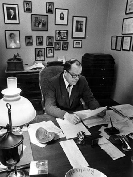 "Blackwell M. ""Dog"" Brogden Sr., Durham Attorney"