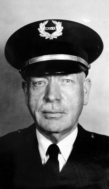 """George W. Proctor, Chief of Police, 1919-21 and 1930-40"""