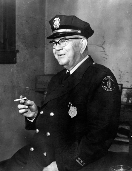 Hubert E. King, Chief of Police, 1940-56