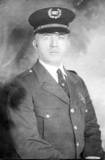 Chief Walter F Doby 1922-1931