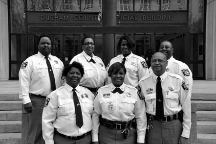 Durham County Sheriff's Department's Detention Command Staff, 2012