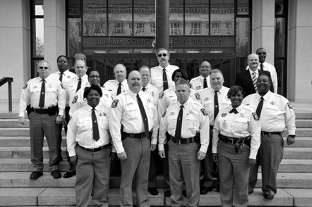 """Durham County Sheriff's Department Command Staff, 2012 """