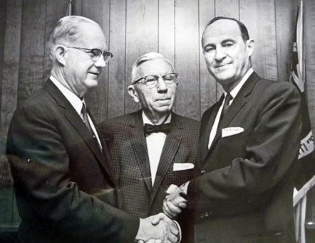 Outgoing Durham City Councilmen and Mayor, 1963