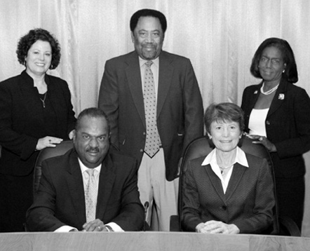Durham County Board of Commissioners, 2011-2012