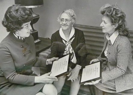 Elna Spaulding, Lyda Moore Merrick, and Mary D. B. T. Semans