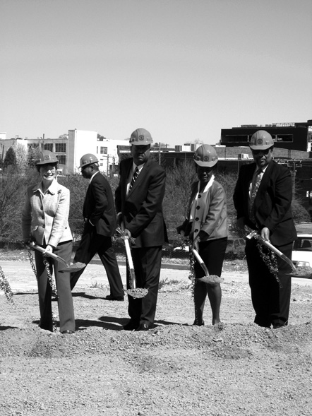 """Durham County Courthouse Groundbreaking, March 2010"""