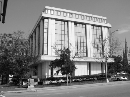 """Durham County Judicial Building, the County's Third Courthouse"""