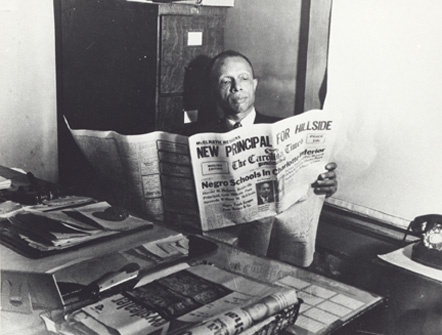 Louis Austin, Editor, The Carolina Times Newspaper