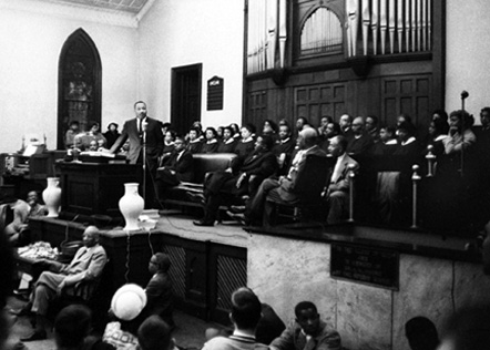 Martin Luther King, Jr., at White Rock Baptist Church