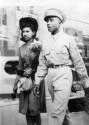 Enlisted Man Floyd B. McKissick and Wife Evelyn McKissick