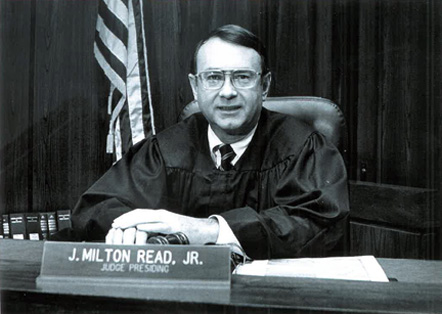 J. Milton Read Jr., Superior Court Judge, 1984-1995
