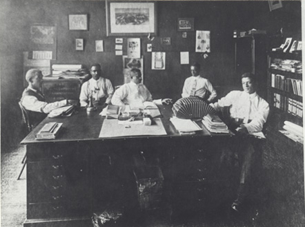 Officers of the North Carolina Mutual Life Insurance Company, ca. 1913