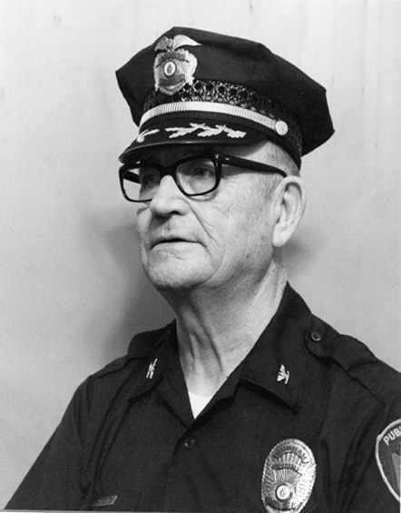 Theodore B. Seagroves, Chief of Police, 1977-80