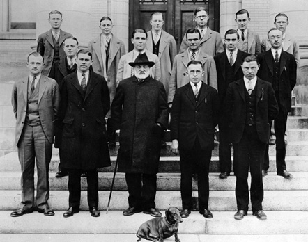 Dean Samuel F. Mordecai and the Duke School of Law Class, 1926