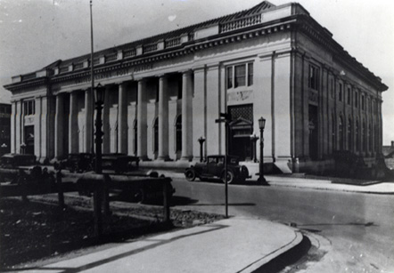Durham Post Office, Chapel Hill Street