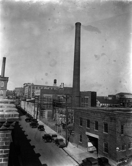Durham Light and Power Company, Blackwell Street, 1930