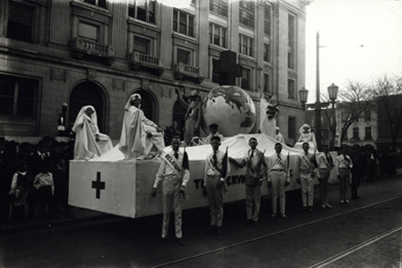World War I-era Red Cross Float